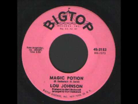 Lou Johnson - Magic potion - Bigtop records Soul.wmv