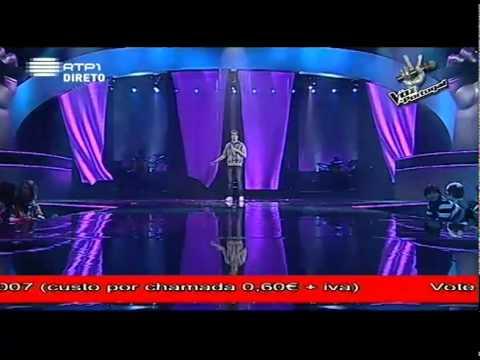 A Voz de Portugal 6ª Gala - Daniel Moreira -