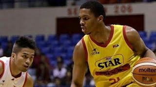Malcolm Hill Illinois highlights   Star Hotshots Import   PBA Governors Cup 2017