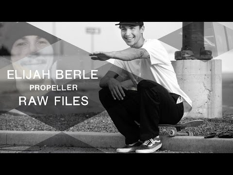 Elijah Berle's 'Propeller' RAW FILES