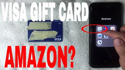 ✅  Can You Use A Visa Gift Card On Amazon ?