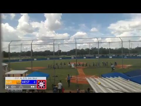 West Volusia vs. Bartow - FL DYB AA (Traditional Division-Pool 2)