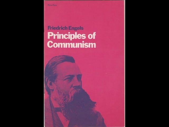 Fryderyk Engels -Zasady Komunizmu (1847) audiobook pl