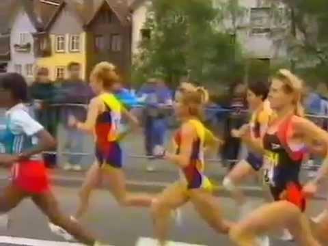 1995 IAAF World Half Marathon Championships Highlights Mn Tanui Wm Yegorova