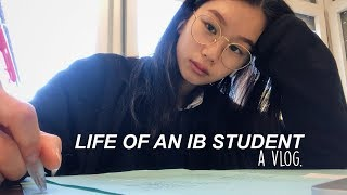 LIFE OF AN IB HIGH SCHOOL STUDENT: Exams week + What I Eat