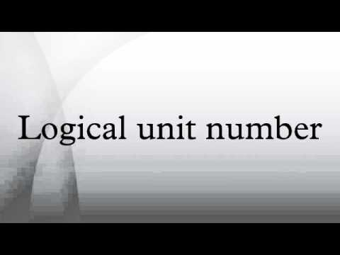 Logical unit number - YouTube