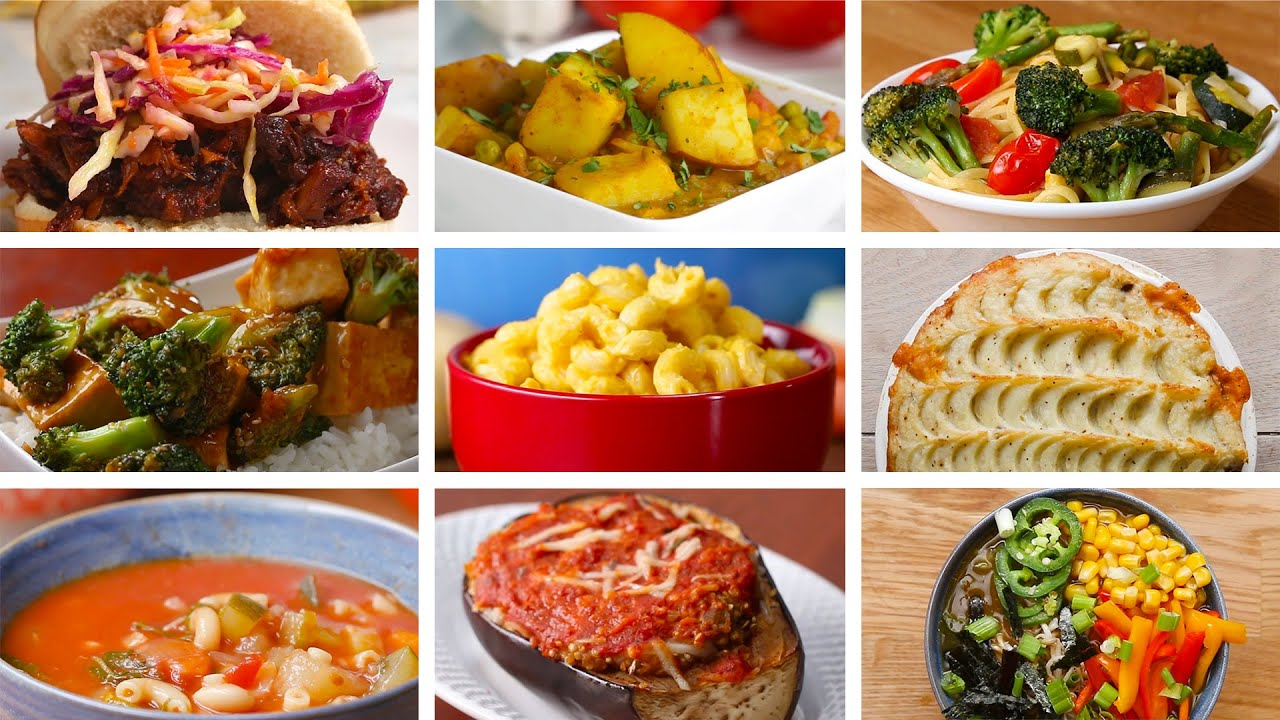 9 delicious vegan friendly dinners youtube 9 delicious vegan friendly dinners forumfinder Gallery