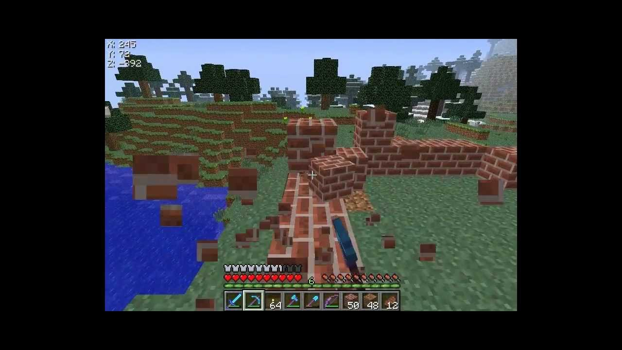 Minecraft ita ep16 costruzione casa di mattoni youtube for Costo di costruzione casa di mattoni
