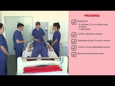 OUH AICU HCID Proning Procedure - video v4 (checklist v1.3)