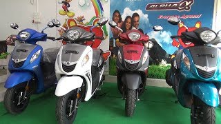 NEW YAMAHA FASCINO COLORS AFTER GST