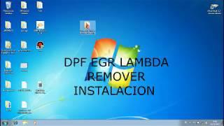 dpf egr lambda remover INSTALACION