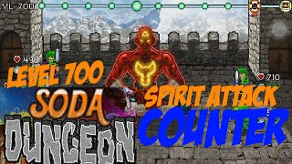 Soda Dungeon - Level 700 Boss Fight TUTORIAL [ios] Tengen