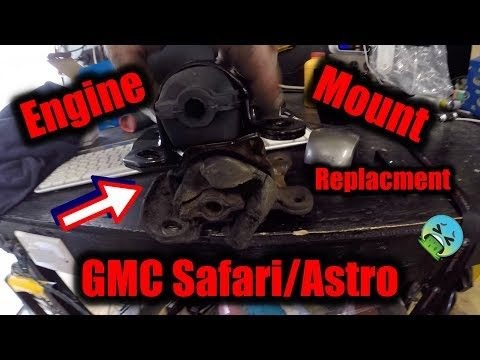 New Engine Mounts In GMC Safari/Astro