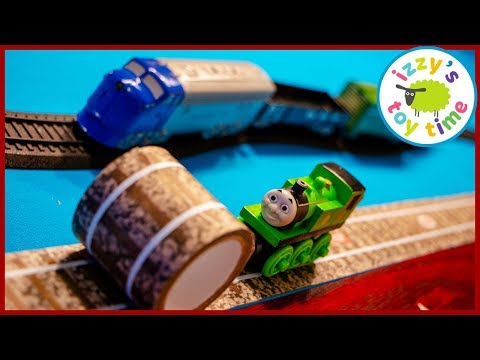 Bachmann Battery Operated Thomas and Friends WITH TRACK TAPE!