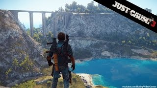 Just Cause 3 | 10 Minutes of Free Roam Gameplay | Wingsuit, Grappling, Flying, Explosions (PS4) HD