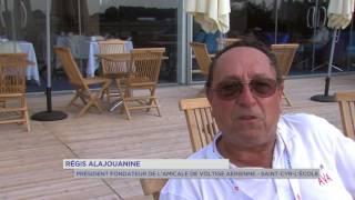 Aéronautique : voltige aérienne au salon du Bourget