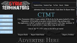 [TUTORIAL] How To Use Cyber Terminators MEGA Trainer