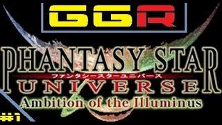 Phantasy Star Universe: Ambition Of The Illuminus - Episódio 1: O Treino (GGR)