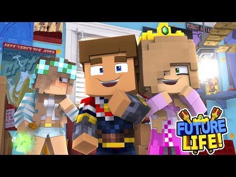 Minecraft FUTURE LIFE!! - LITTLE KELLY & DONNY BECOME ROYAL BABIES!!