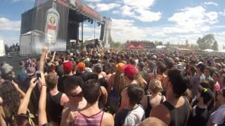 August Burns Red -  Intro + Internal Cannon live @ Rockfest Montebello HD GoPro
