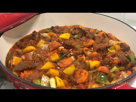 Easy Beef Vegetable Stew | Beef Sauce