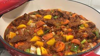 Easy Beef Vegetable Stew  Beef Sauce