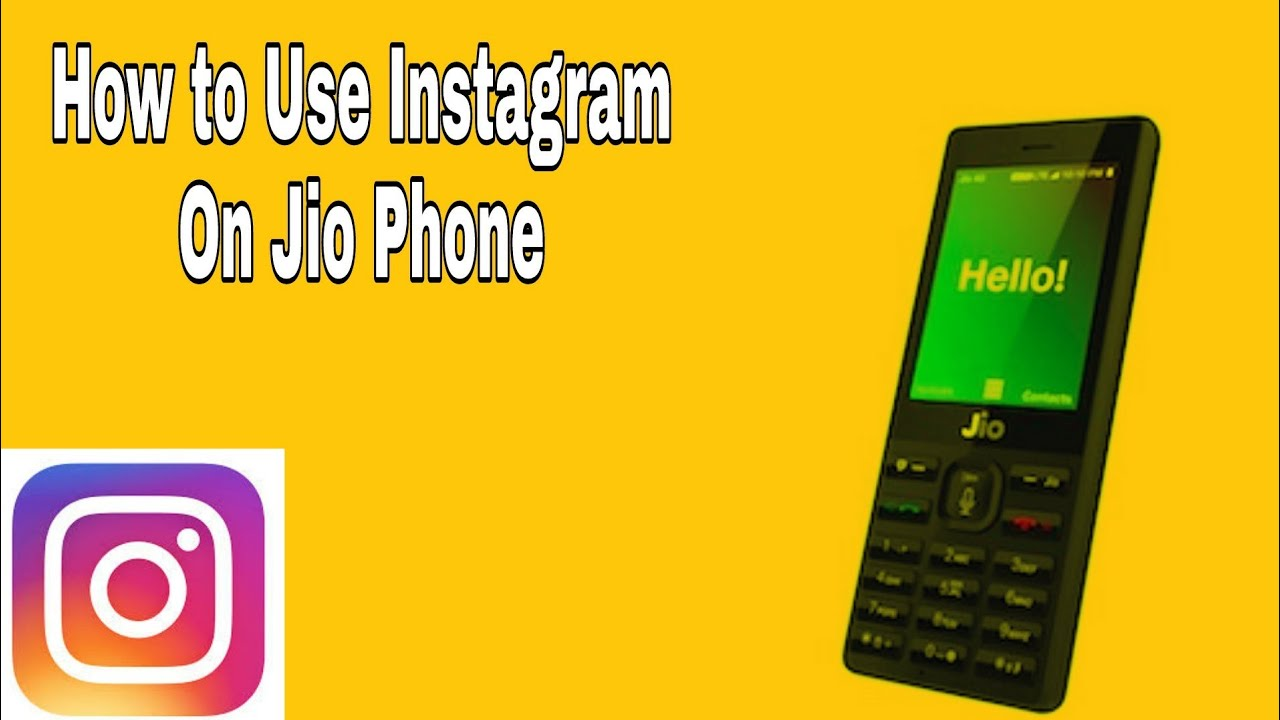 Instagram for Jio Phone