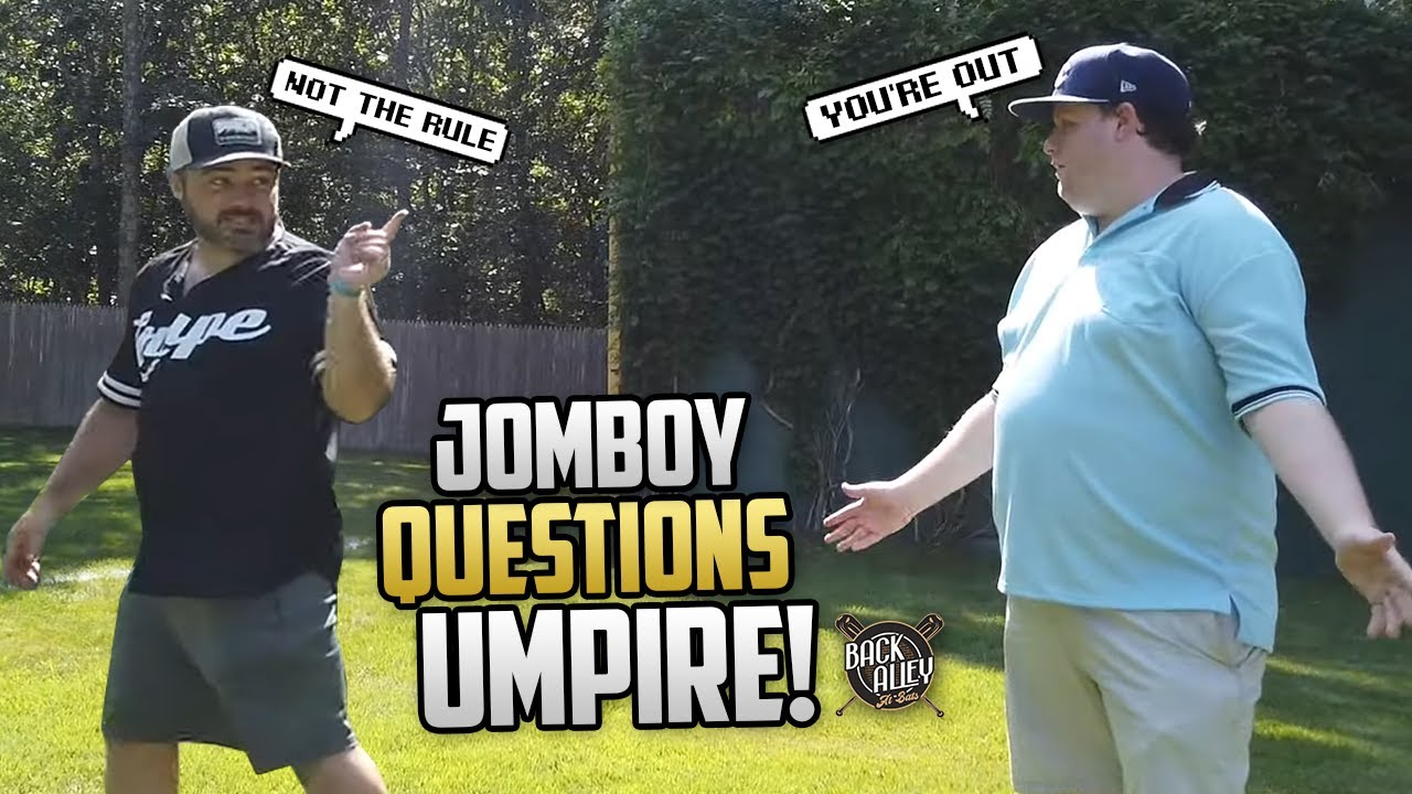 Umpire makes QUESTIONABLE call! | Back Alley At Bats Ep. 15