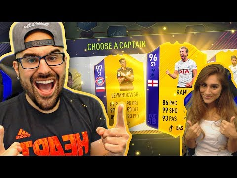 HIGHEST RATED PREMIER LEAGUE DRAFT CHALLENGE! FIFA 18 Ultimate team Draft