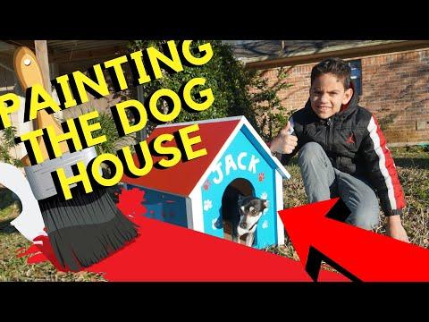 Dog House Paint Ideas  DIY.