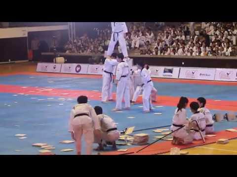 Kukkiwon Taekwondo Demonstration - 1/12/2017 Opening ASIA KUKKIWON TAEKWONDO HANMADANG CAMBODIA 2017