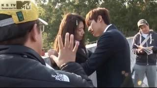 Video min ho and shin hye kissing scenc, The heirs lee min ho and park shin hye behind the scenc download MP3, 3GP, MP4, WEBM, AVI, FLV Juli 2018