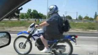 Fat guys on bikes