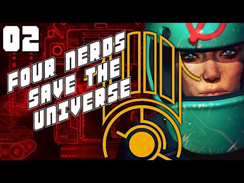 """Four Nerds Save the Universe Podcast #2 - Eye.jpg ARG, Brigador, & Dangers of Trying to """"Make It"""""""