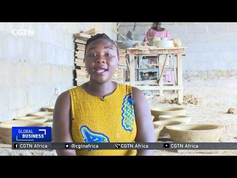 Nigerian woman designs clean energy stove