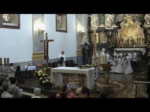 Msza Święta Pielgrzymki Rodzin osób powołanych i wspierających powołania 13.05.2017