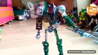 Bionicle 3 clatorin vs toa