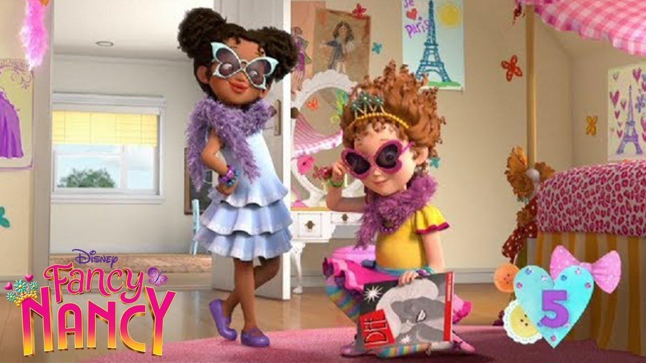 It's just an image of Gutsy Fancy Nancy Characters