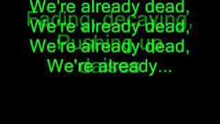 Escape The Fate- Zombie Dance (Lyrics)