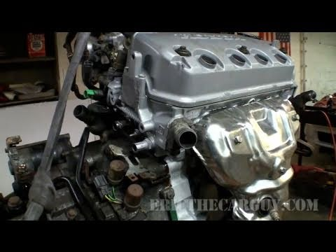1998 Honda Civic Engine Part 2 - EricTheCarGuy
