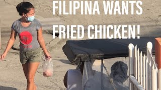#Filipina Wife Wants Fried Chicken for Supper! Outdoor #Cooking with Cast Iron