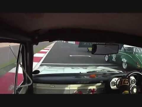 2012 HSCC Silverstone Finals Jim Clark Lotus Cortina Historic Touring Cars