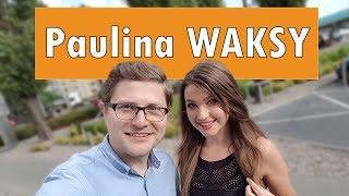 """PIERWSZY TAKI WYWIAD PAULINY SOBOŃ Z KANAŁU """"WAKSY"""""""