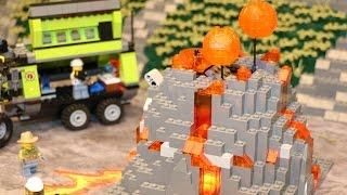 LEGO City Volcano 2016: Starter Set, Trucks and Crawlers on display!