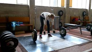 Darya Klishina. (65 kg).