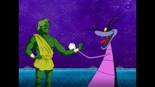 हिंदी Oggy and the Cockroaches - Joey and the Magic Bean (S02E136) - Hindi Cartoons for Kids