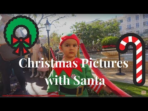 A DAY IN THE LIFE OF A SINGLE MOM | Toddler Christmas Pictures with Santa