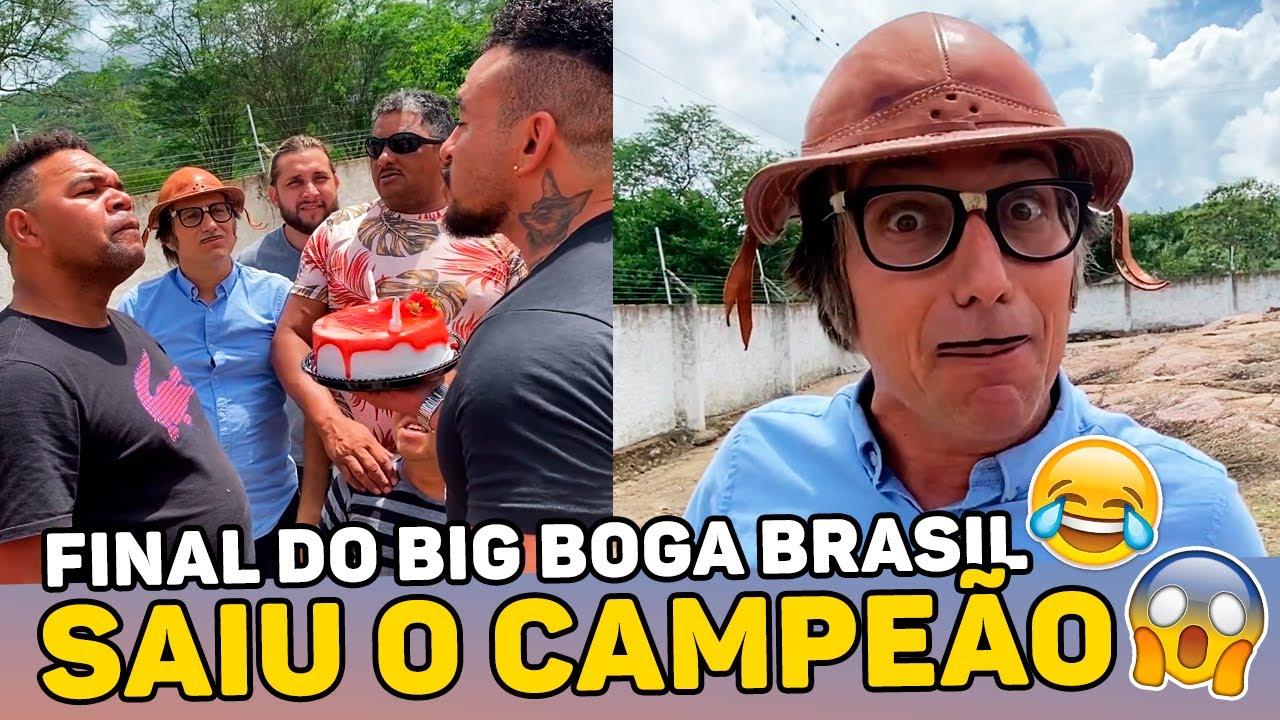 ACABOU O BIG BOGA BRASIL, QUEM GANHOU? | BIG BOGA BRASIL DO MUÇÃO