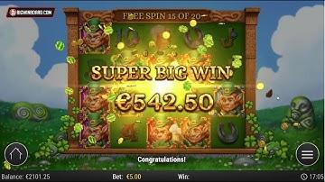 LEPRECHAUN GOES WILD (PLAY'N GO) ONLINE SLOT - MASSIVE WIN