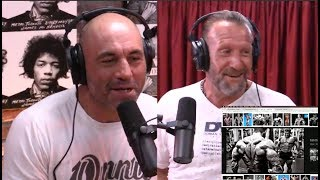 Dorian Yates Looks at His Old Bodybuilding Pictures - The Joe Rogan Experience